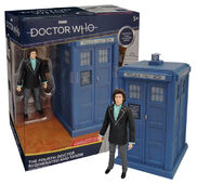 Fourth doctor regenerated and tardis