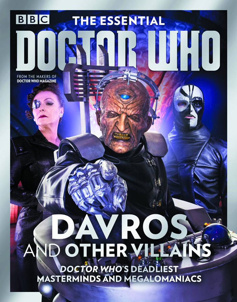 Essential doctor who issue 6 davros and other villains
