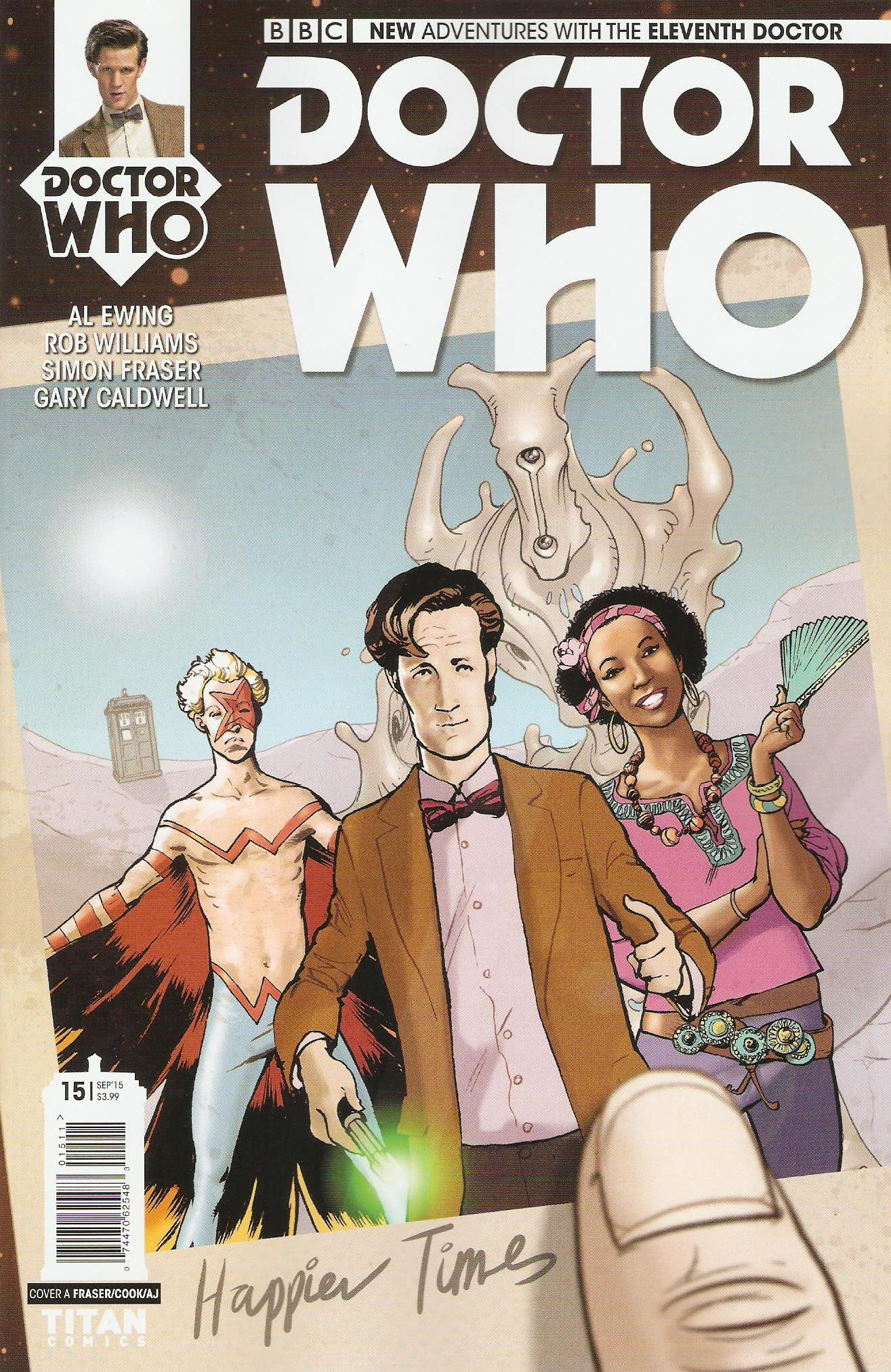 Eleventh doctor issue 15a