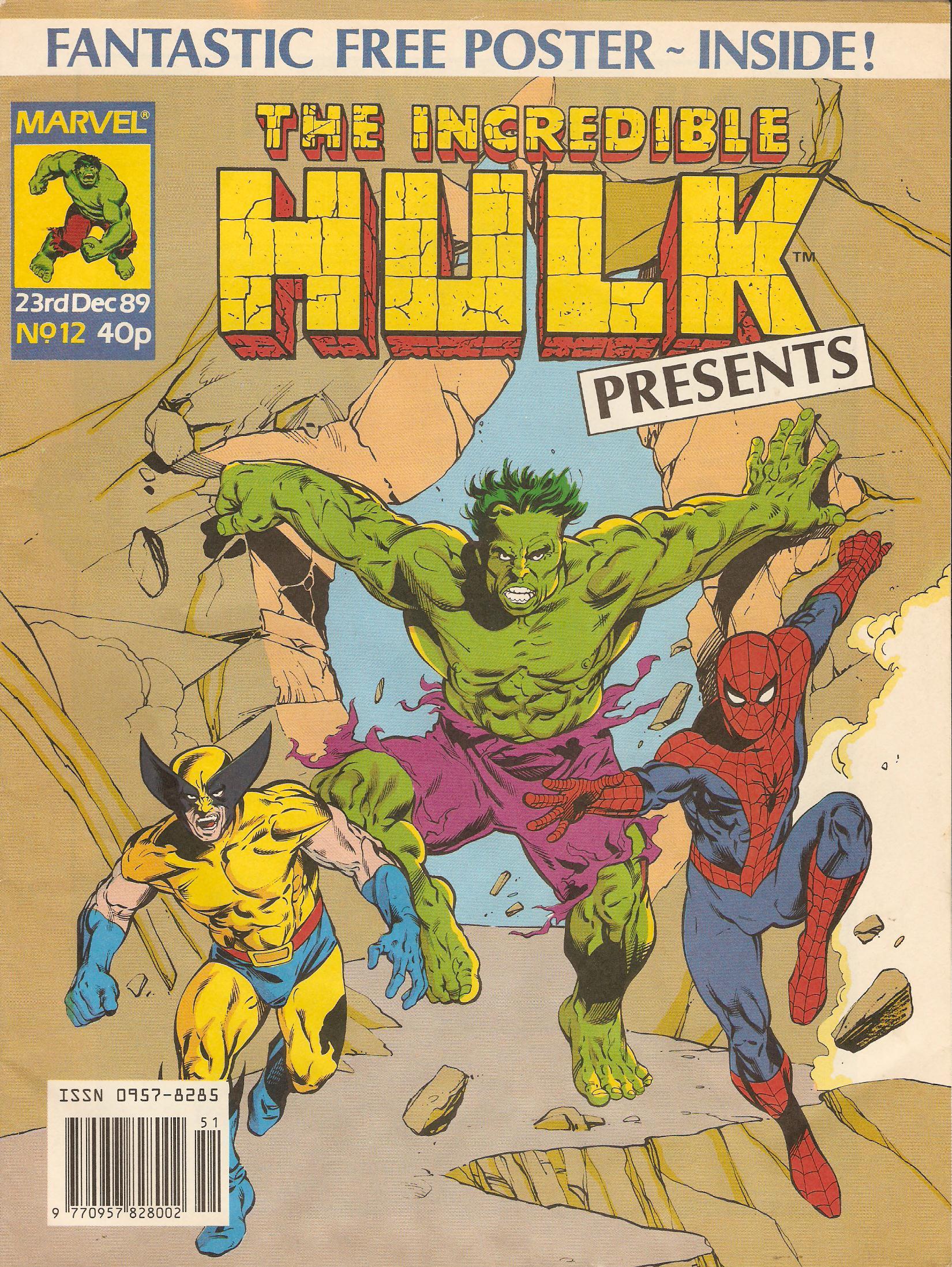 Incredible hulk presents 12