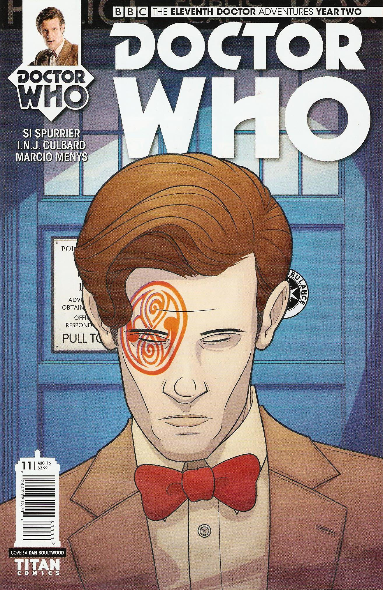 Eleventh doctor year 2 issue 11a