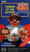 Terror of the autons australia vhs