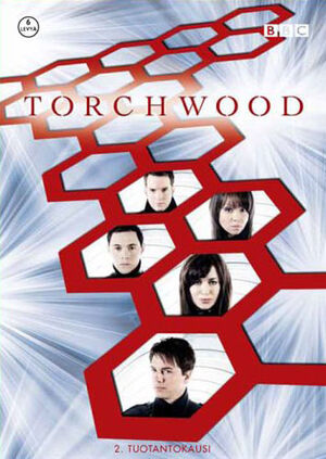 Torchwood complete second series finland dvd