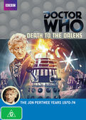 Death to the daleks australia dvd