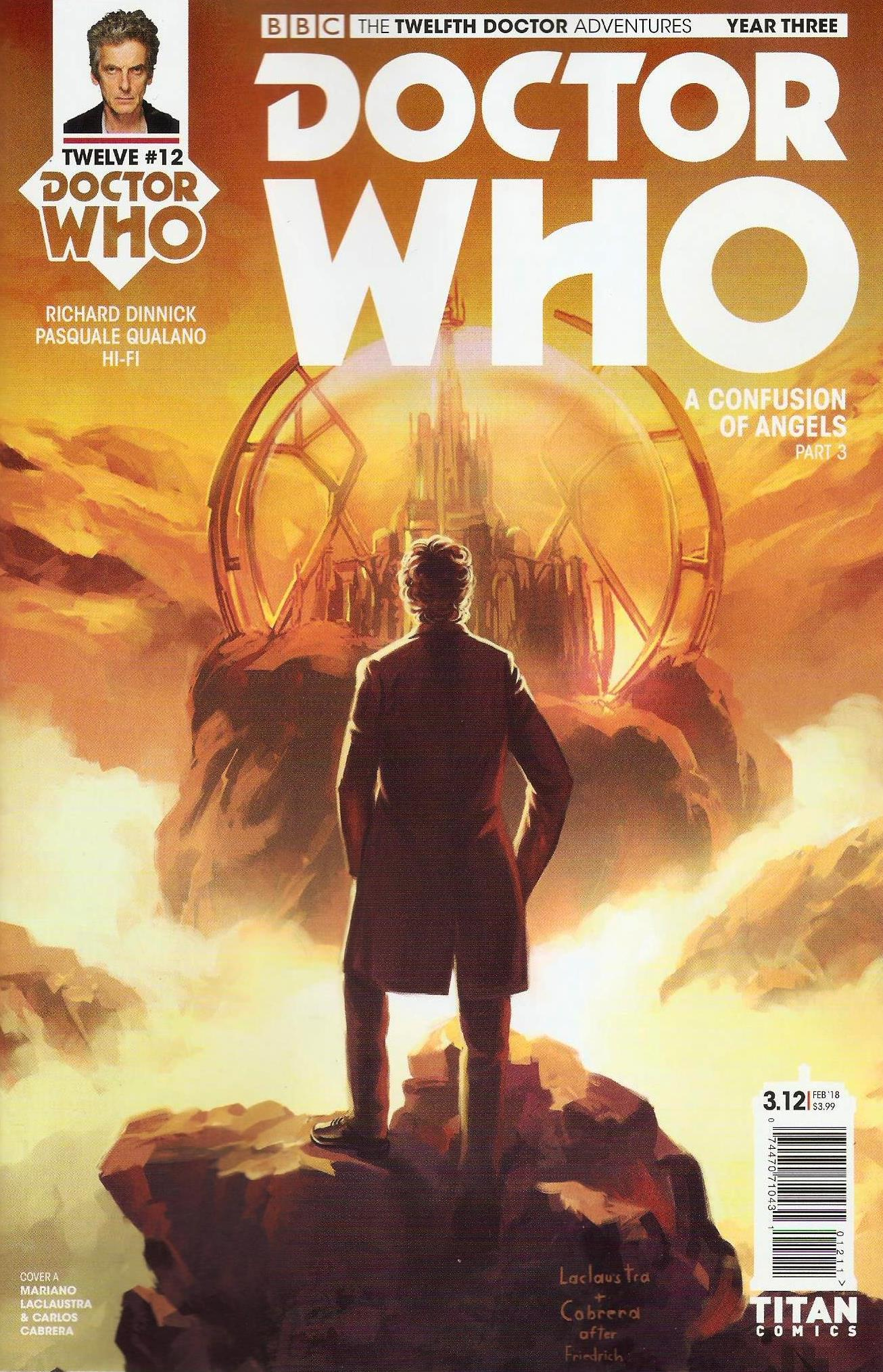Twelfth doctor year 3 issue 12a
