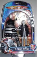 1st Doctor B&W Carded