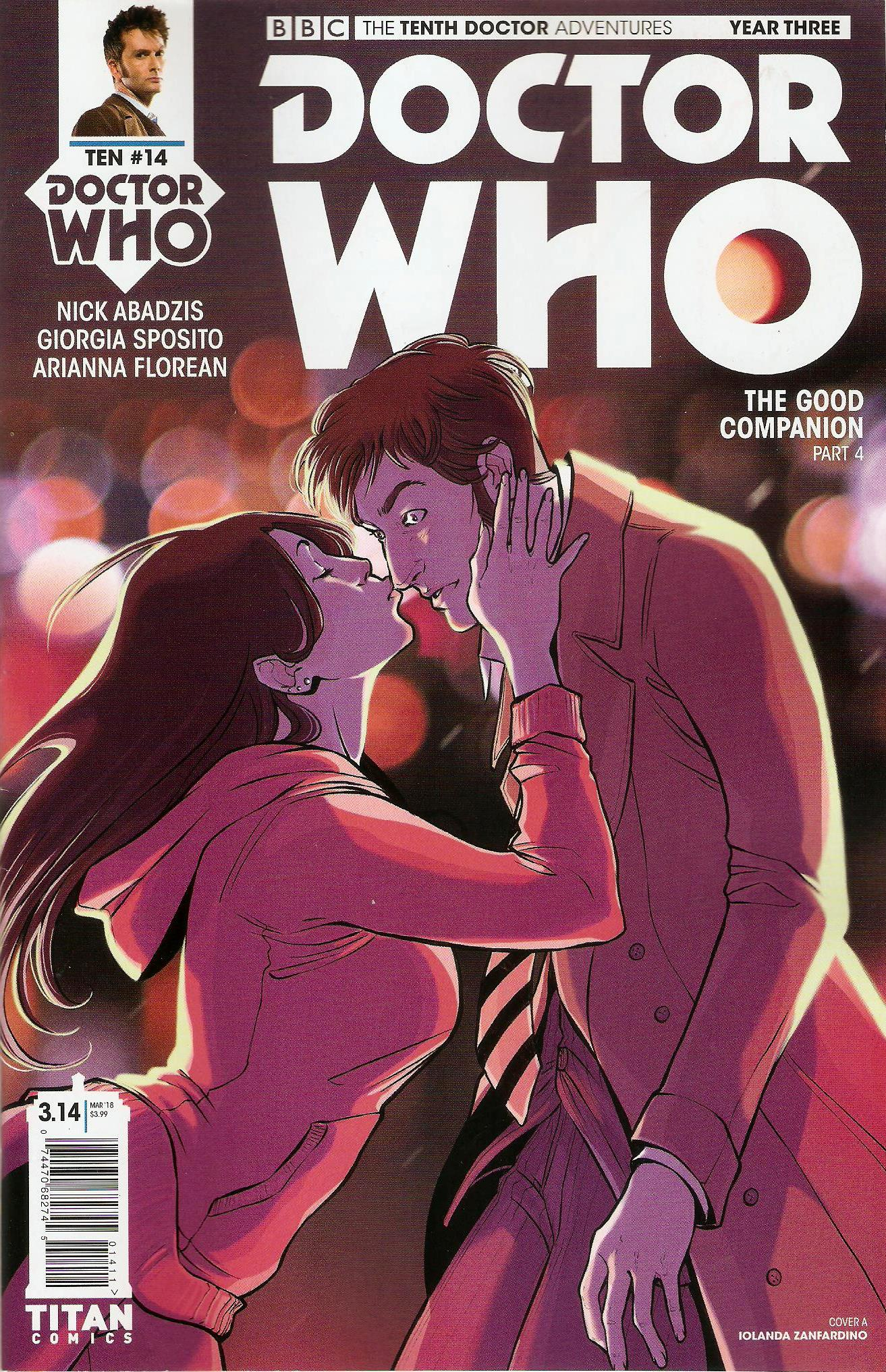 Tenth doctor year 3 issue 14a