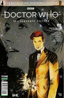 Road to the thirteenth doctor issue 2a