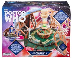 Tenth Doctor TARDIS playset collector series