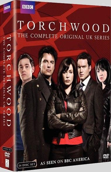 Torchwood complete original uk series us dvd