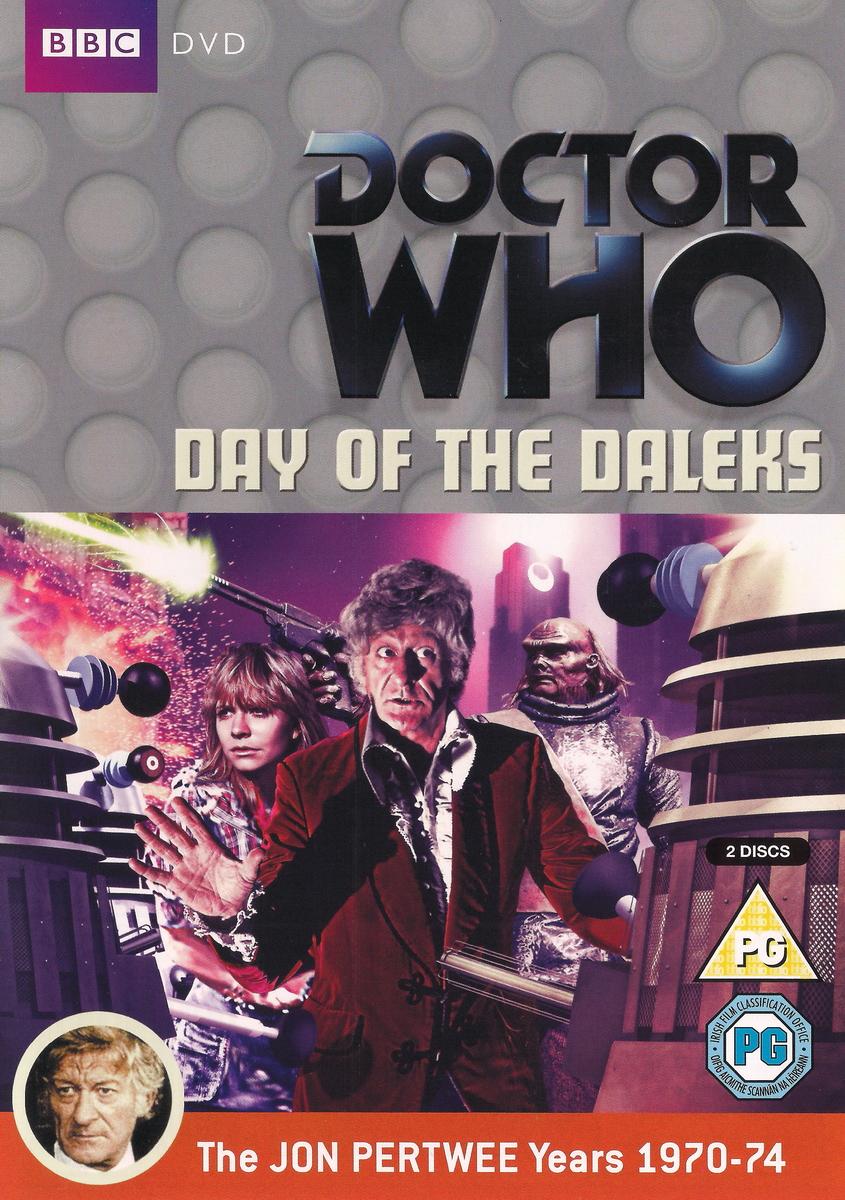 Day of the daleks uk dvd