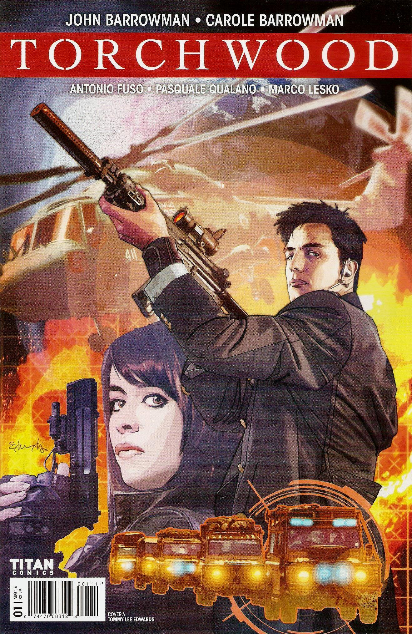 Torchwood issue 1a