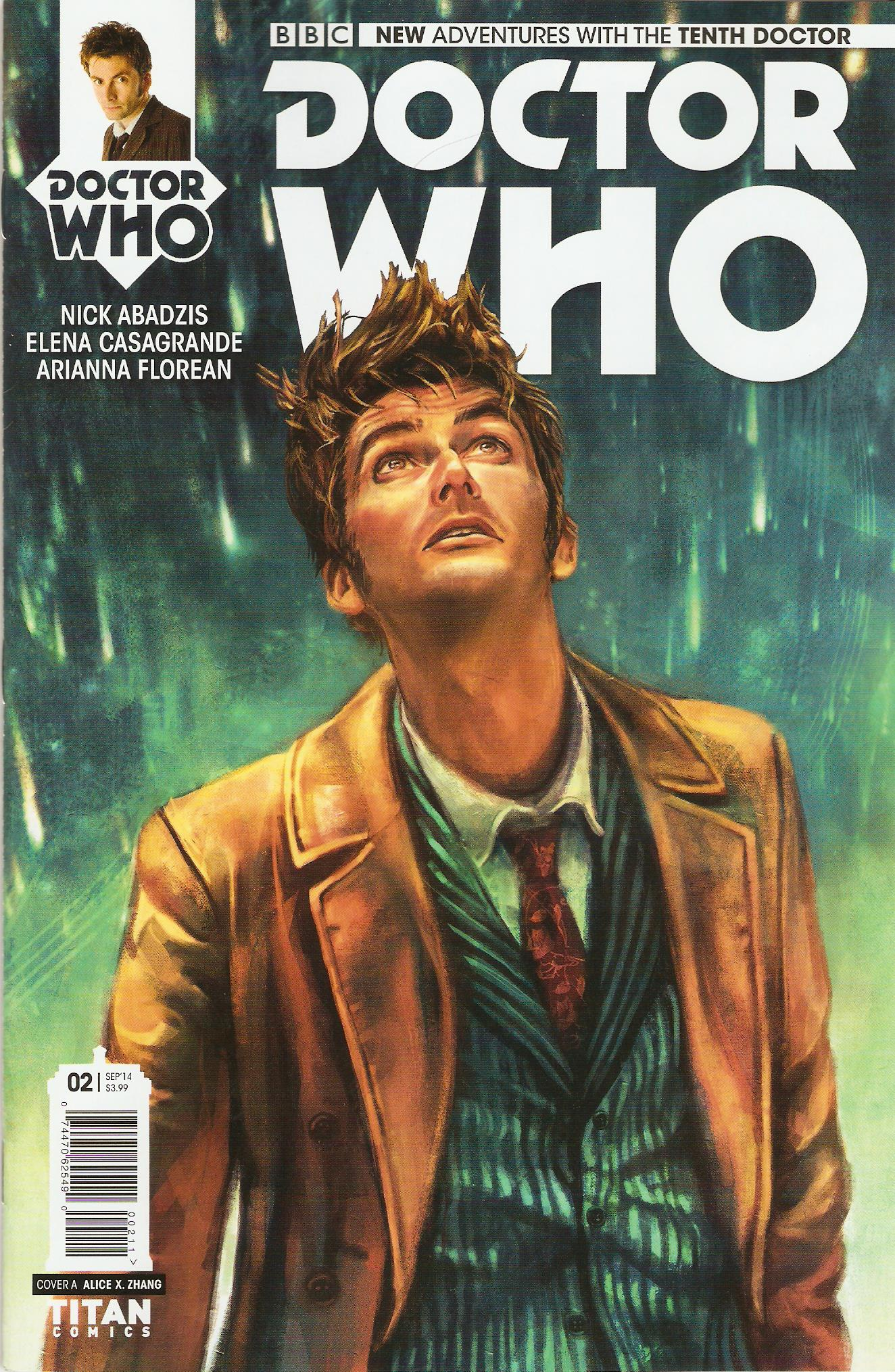 Tenth doctor issue 2a