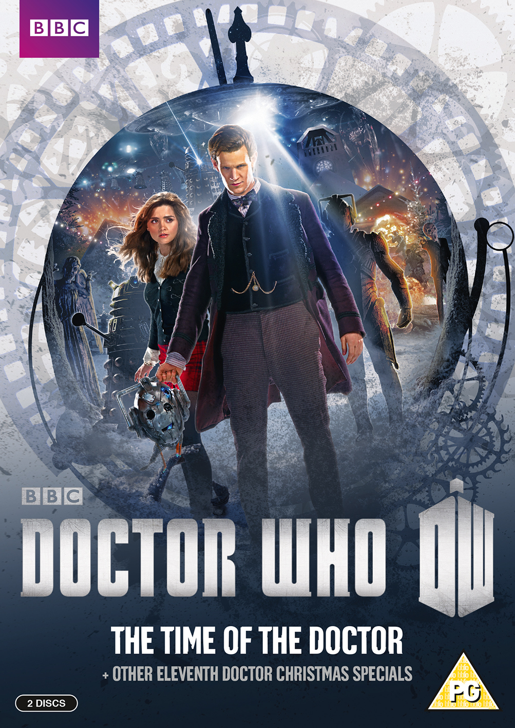 Time of the doctor uk dvd