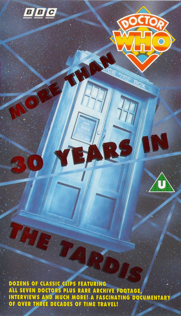 More than 30 years in the tardis uk vhs