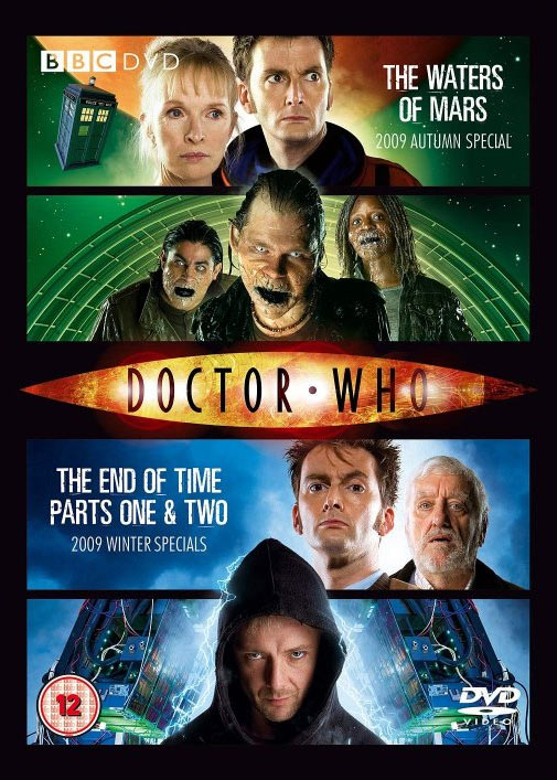 Waters of mars end of time parts one two uk dvd