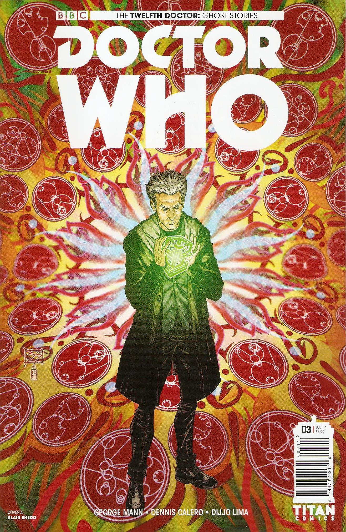 Twelfth doctor ghost stories issue 3a