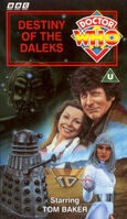 Destiny of the daleks uk vhs