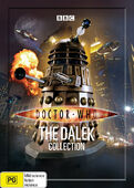 Dalek collection 2009 australia dvd