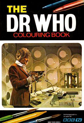 The Dr Who Colouring Book