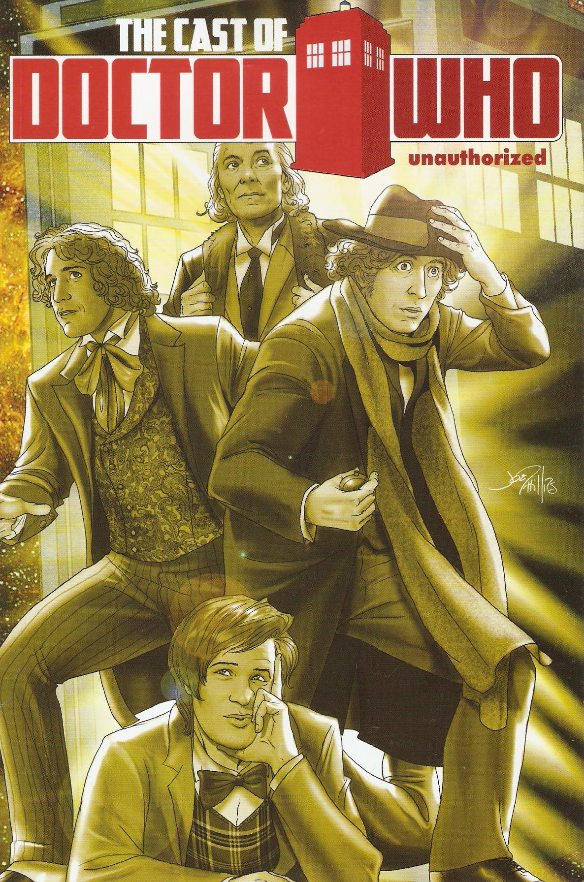 Cast of doctor who graphic novel