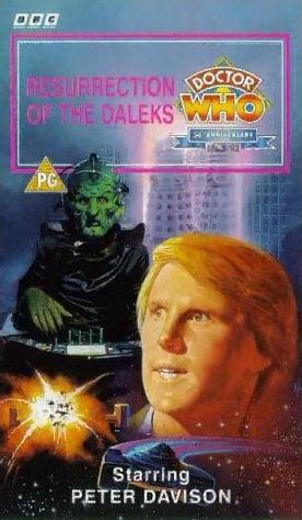 Resurrection of the daleks uk vhs