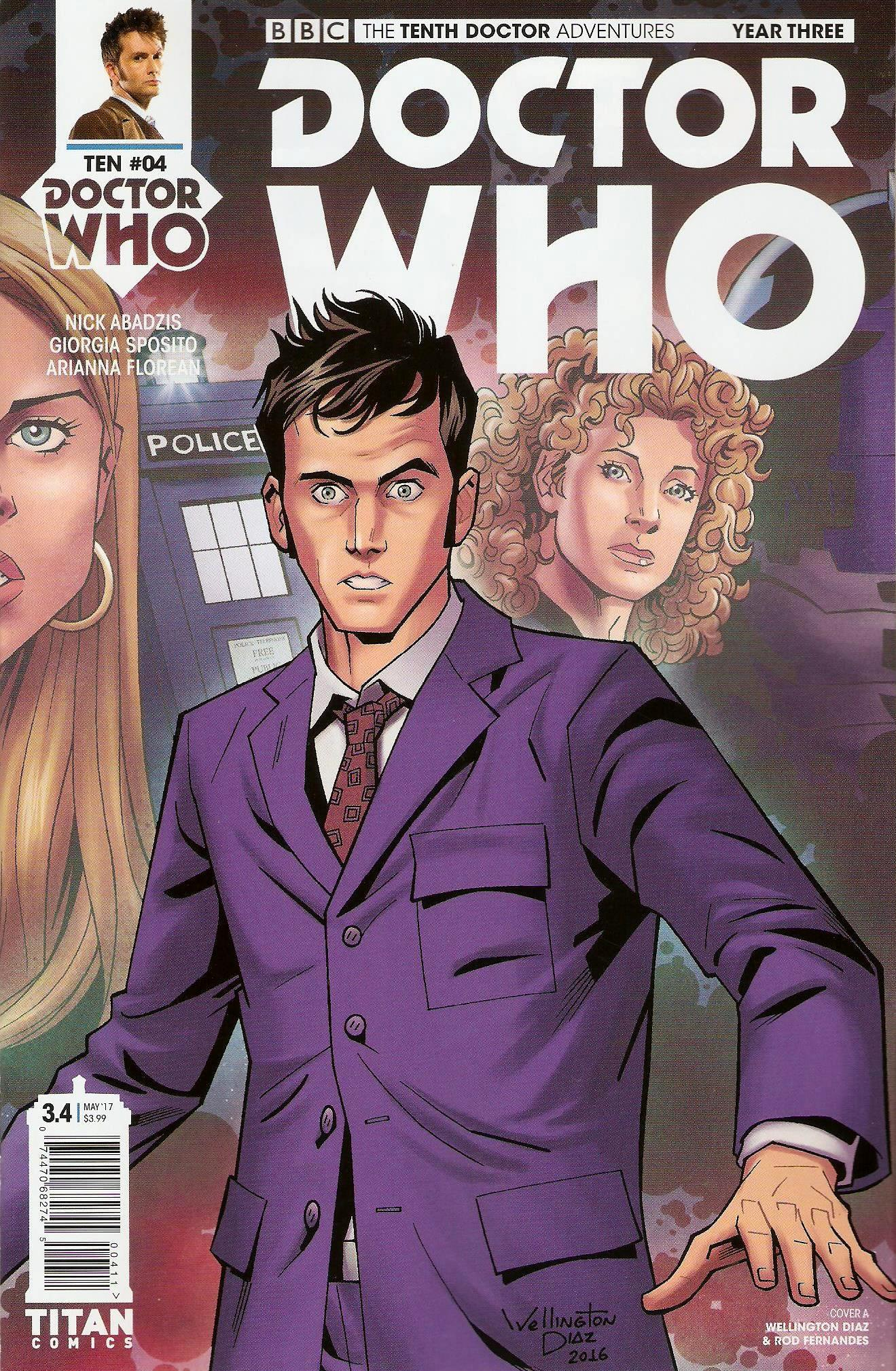 Tenth doctor year 3 issue 4a
