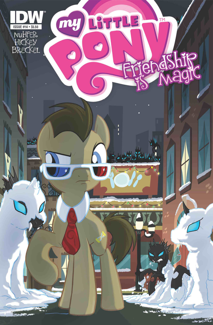 My little pony dr hooves issue 14 hot topic cover