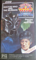 Doctor who and the silurians australia vhs