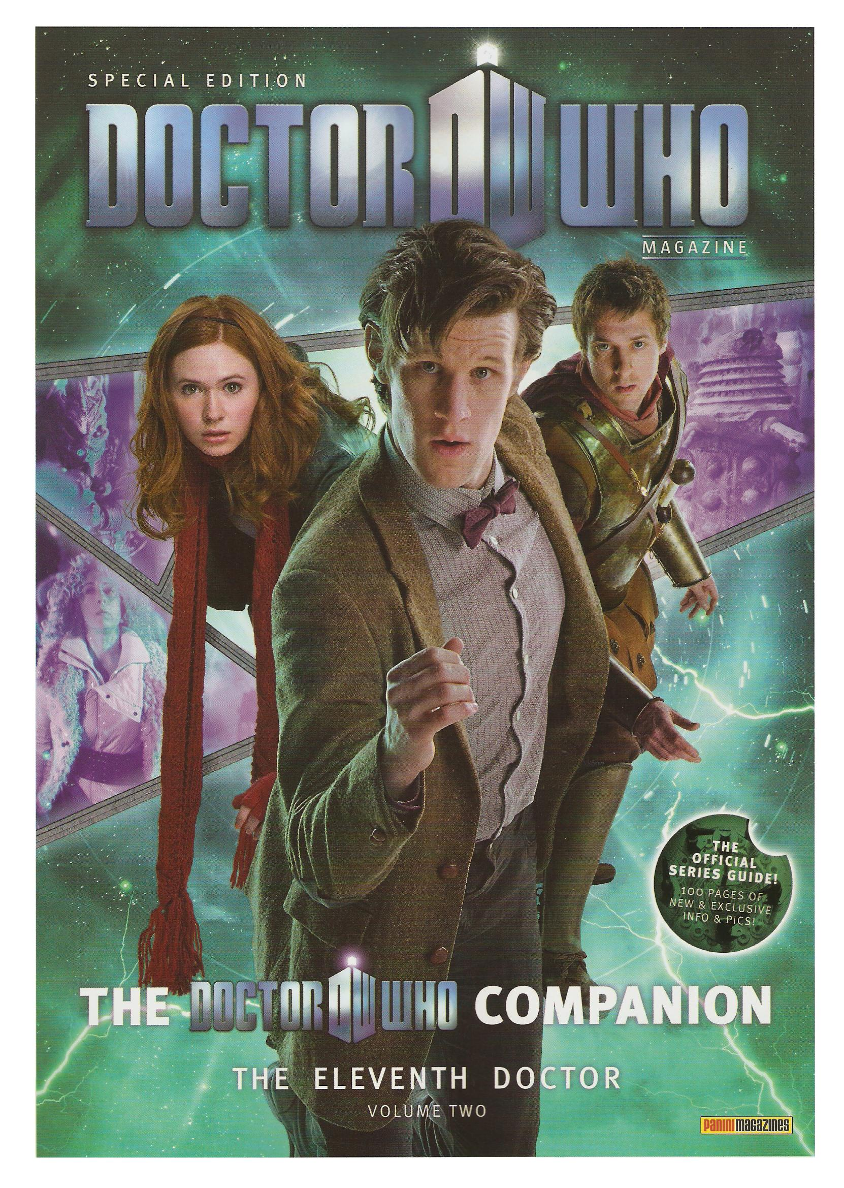 Dwm se doctor who companion eleventh doctor volume two