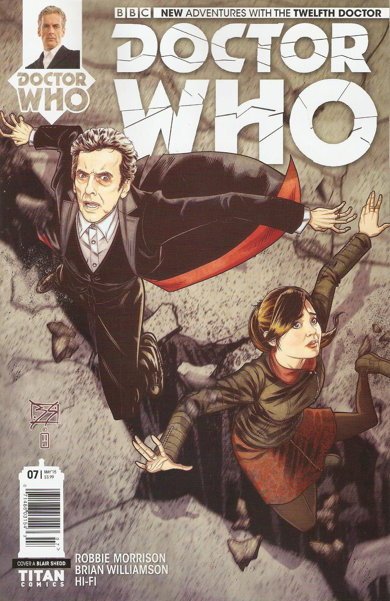 Twelfth doctor issue 7a