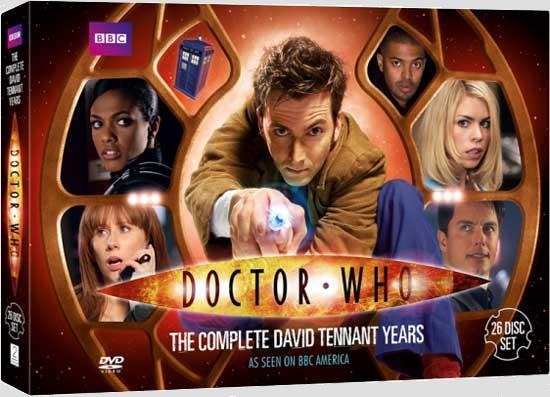 Complete david tennant years us dvd