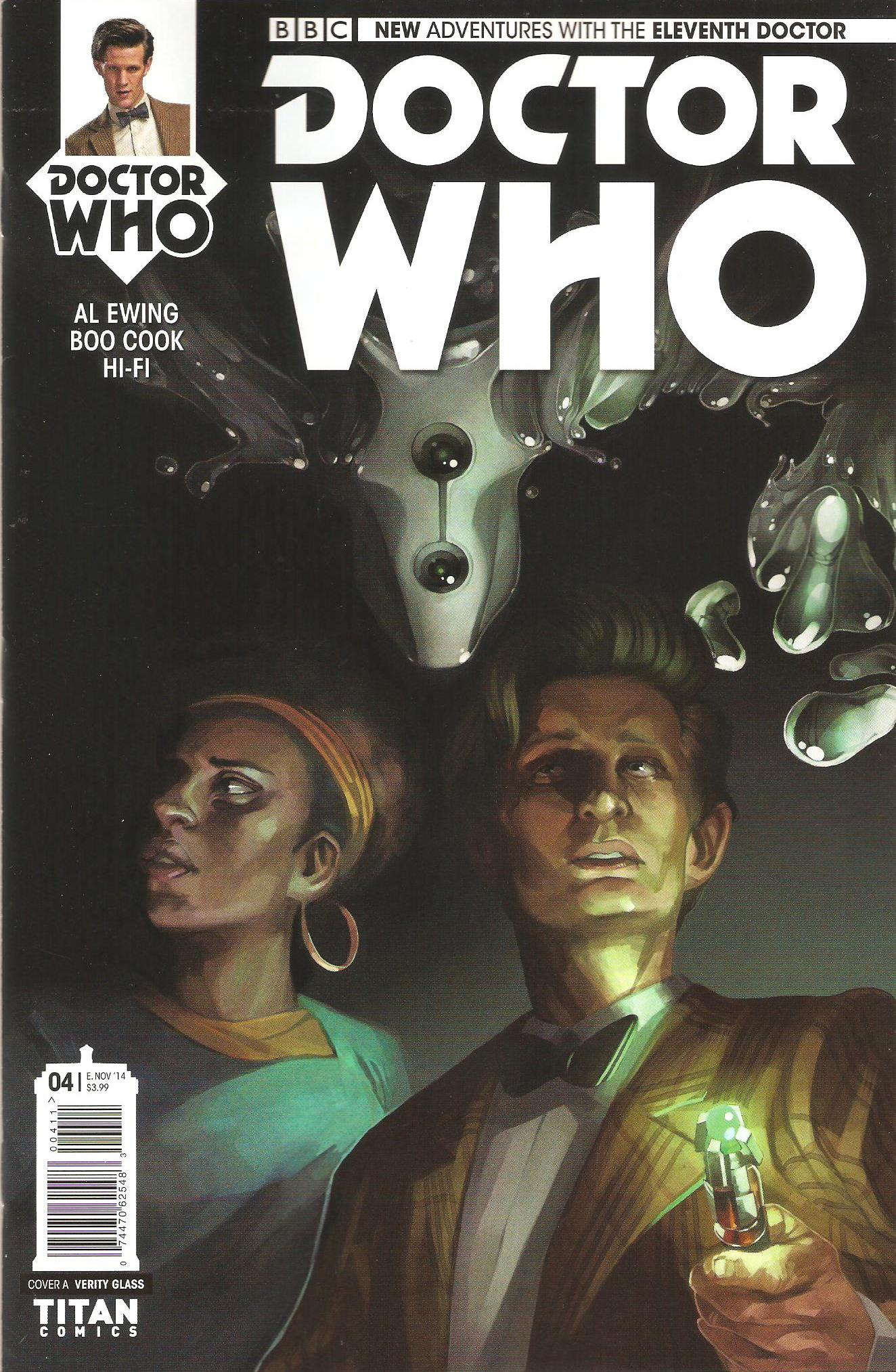 Eleventh doctor issue 4a