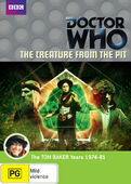 Creature from the pit australia dvd