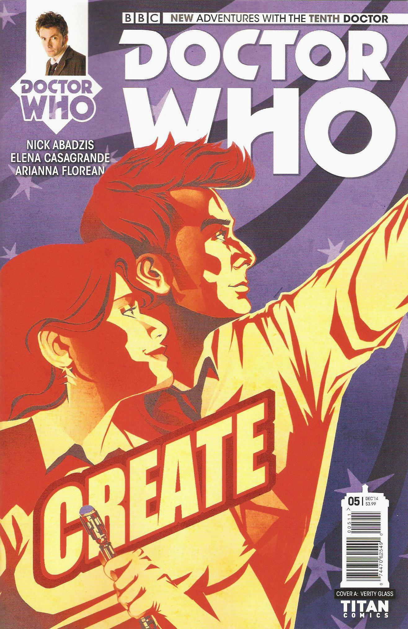 Tenth doctor issue 5a