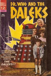 Dr who and the daleks dell comic