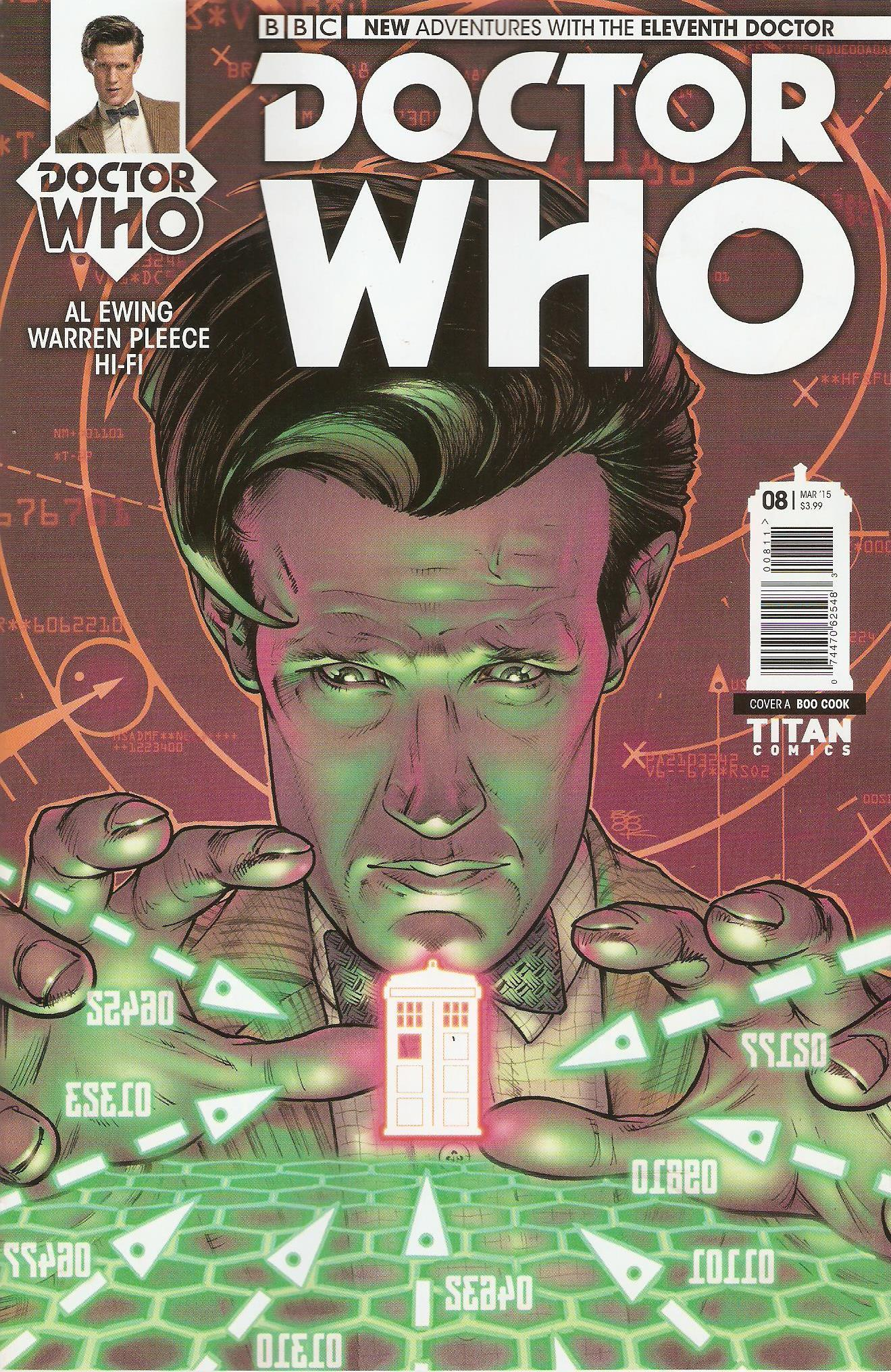 Eleventh doctor issue 8a