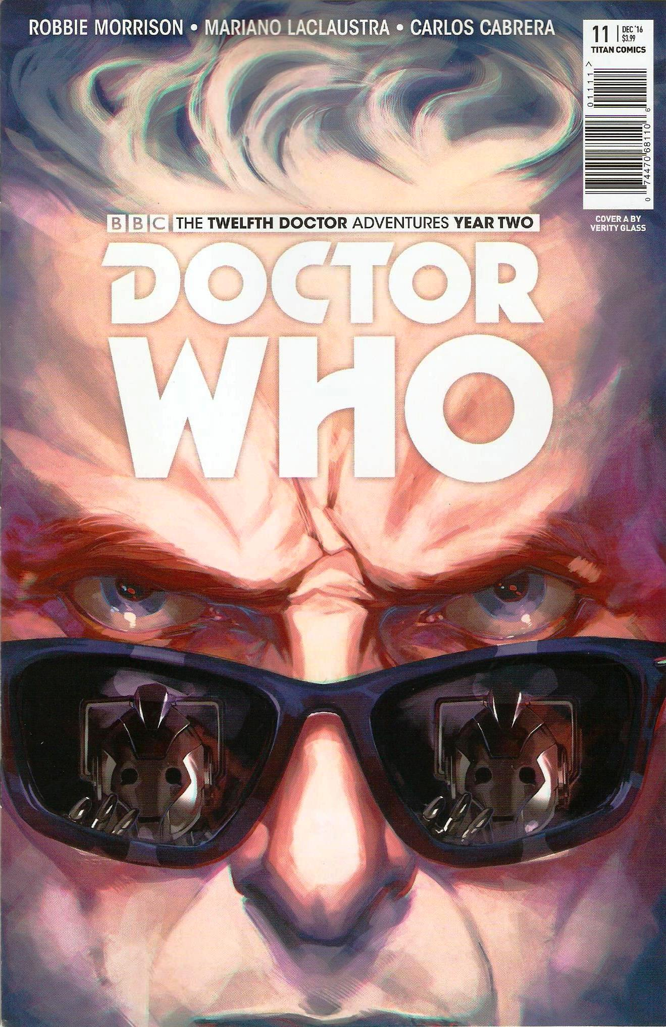 Twelfth doctor year 2 issue 11a
