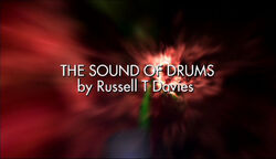 Sound of drums