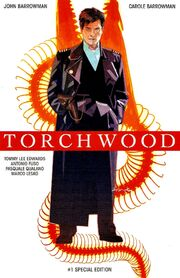 Torchwood issue 1 convention special edition