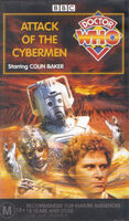 Attack of the cybermen australia vhs