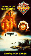 Terror of the zygons us vhs