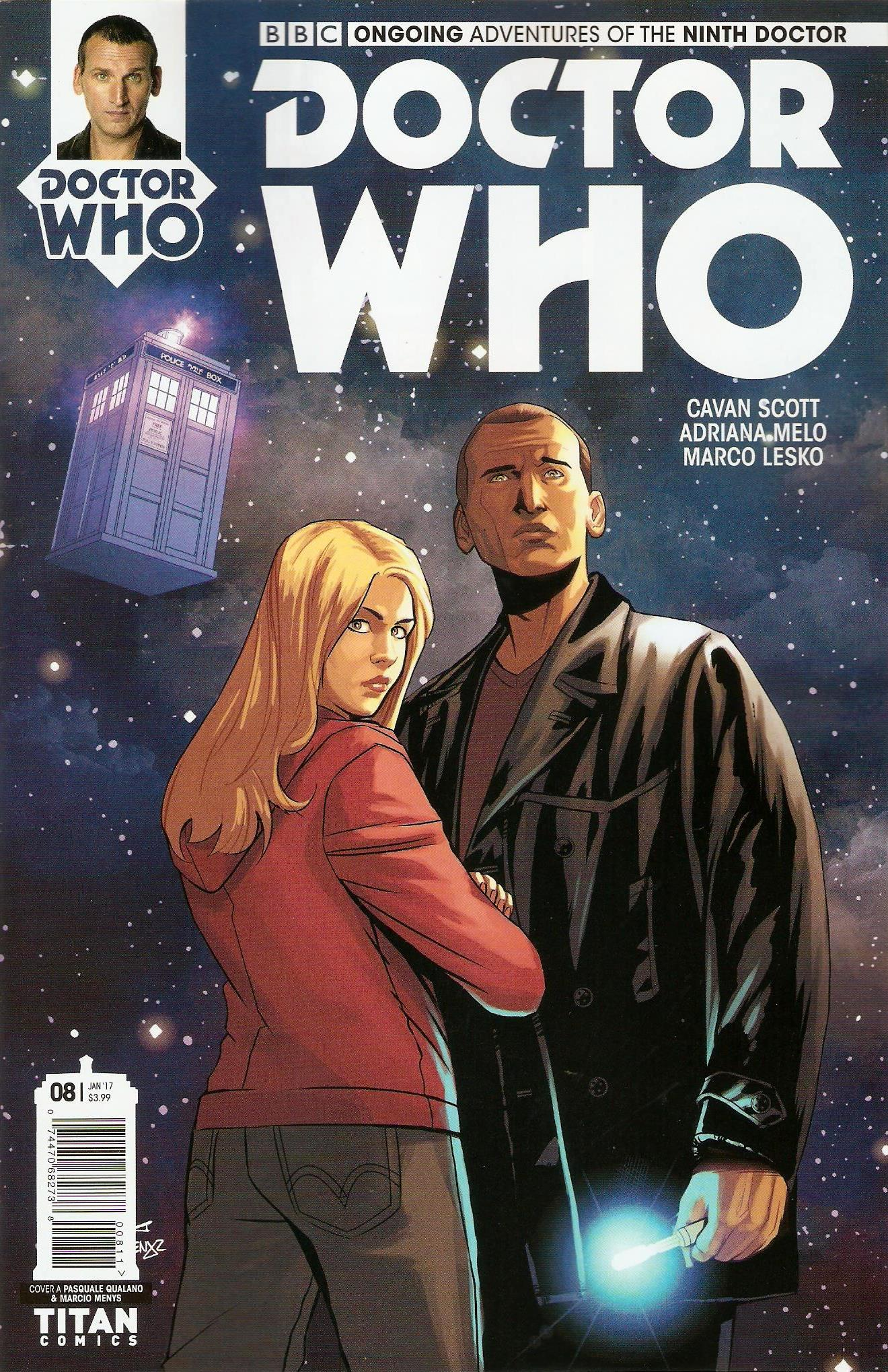Ninth doctor ongoing issue 8a