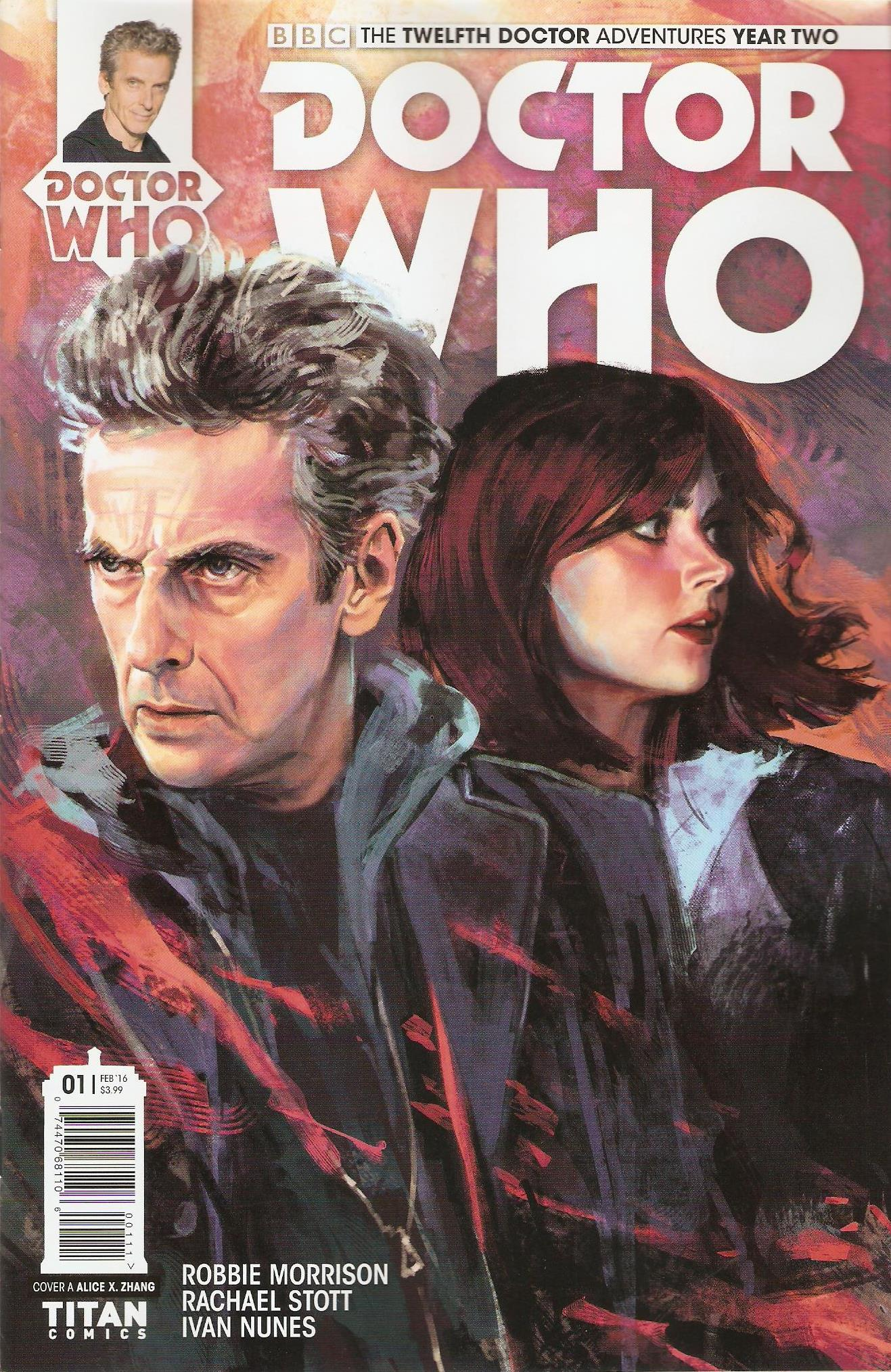 Twelfth doctor year 2 issue 1a