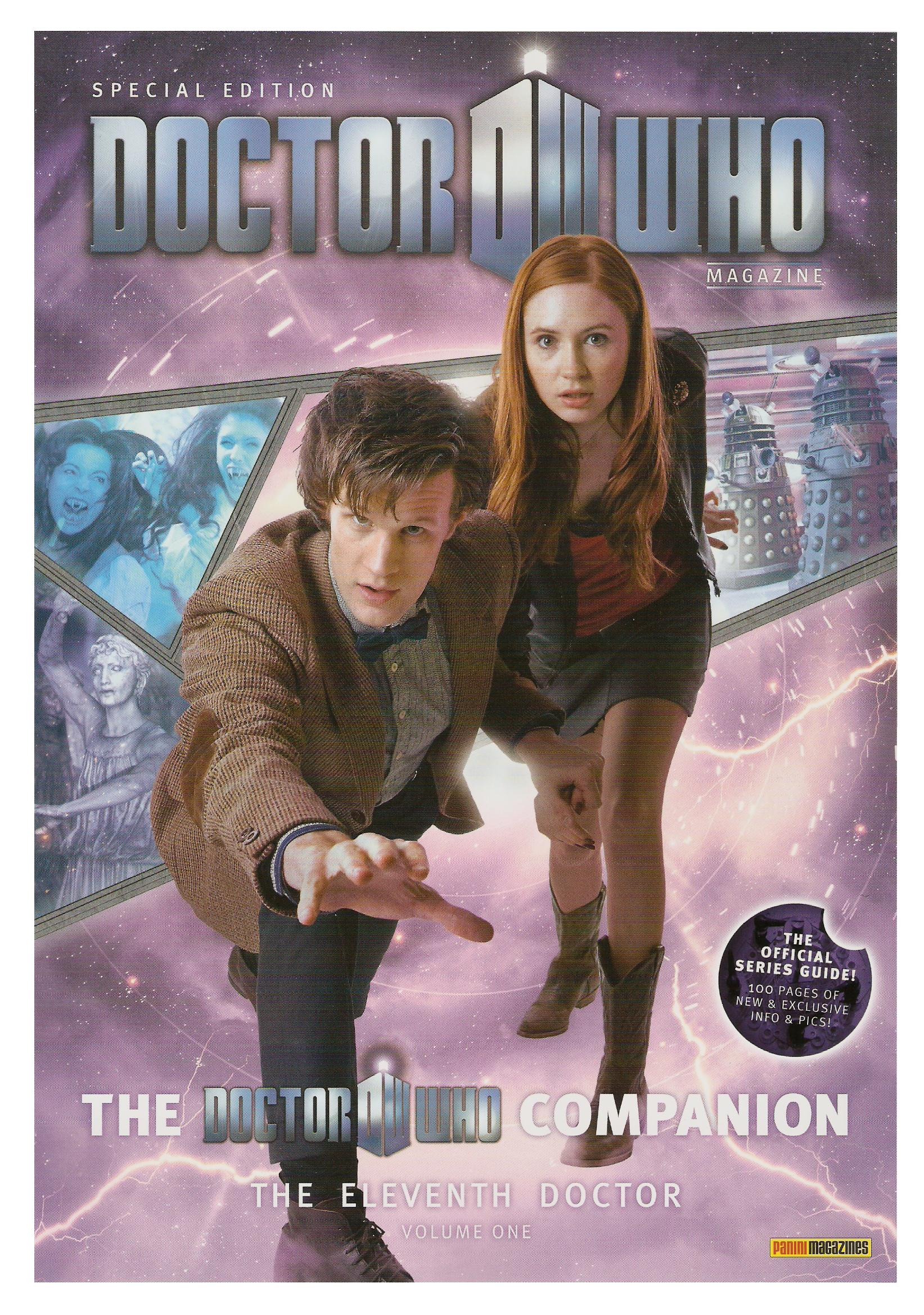 Dwm se doctor who companion eleventh doctor volume one