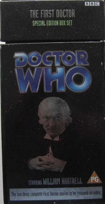 First doctor special edition box set uk vhs
