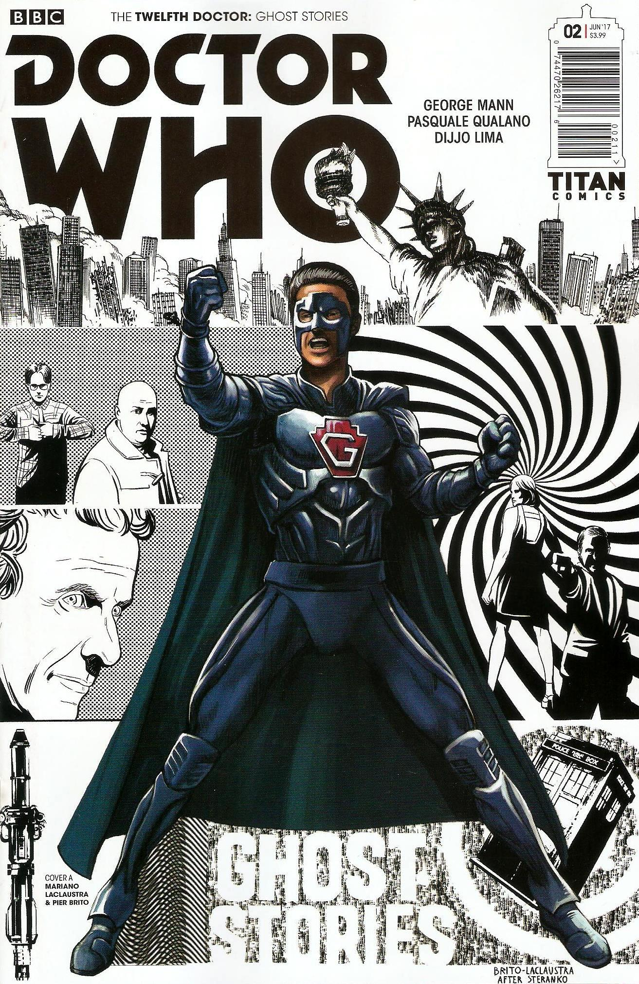 Twelfth doctor ghost stories issue 2a
