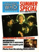 Doctor who magazine 1986 summer special
