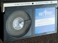 Revenge of the cybermen tape B rerelease betamax