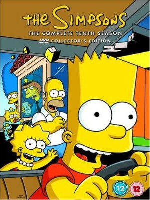 Simpsons complete tenth season uk dvd